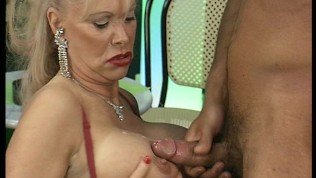 Black chick and mature fuck 2 guys