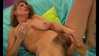 Unshaved Mom Pleasuring Herself - Pleasure Photorama
