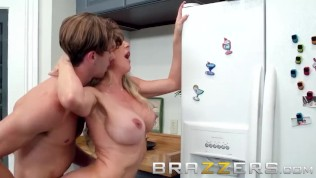 Brazzers - Brandi Love & Lucas Frost - Making A Mess On Stepmom- Hot milf