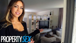 PropertySex Client creampies his hot real estate agent