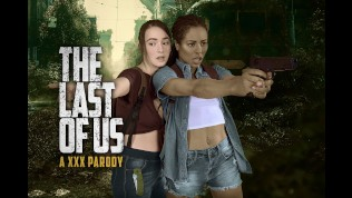 THE LAST OF US Ellie and Riley FFM Threesome in VR XXX Parody