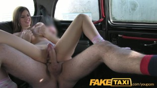 FakeTaxi Innocent student does backseat anal