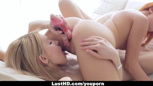LustHD - Hot Russian Babes Experiment With A New Toy