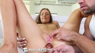 MyVeryFirstTime - Anal creampie for first timer and nervous Shyla Ryder