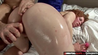 BrutalClips - Schoolgirl Mary McDonald Gets Fucked Raw By Sex Toys