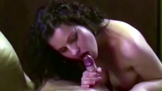 PRETTY MIHAELA STRIPPING AND DOING A BLOWJOB