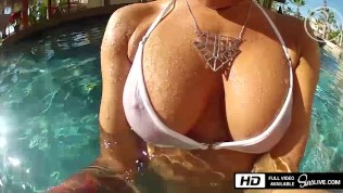 Johnny Sins fucks the pool girl - Sins Life