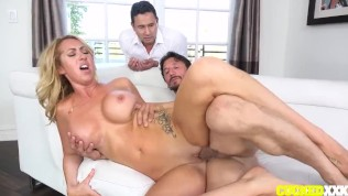 Janna Hicks Fucks Her Cuckold Husband's Friend While He Watches