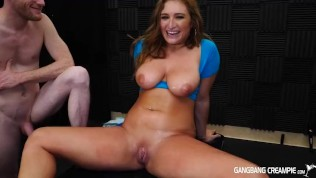 Skylar Snow gets Gangbanged and takes 6 creampies