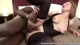 Granny Magda Gets Blacked