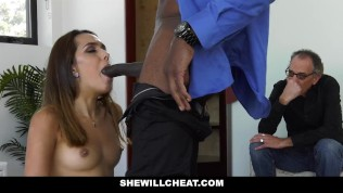 SheWillCheat - Petite Latina Wife Fucks BBC