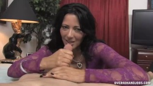 Sweet Milf Strokes Drivers Hard Cock POV