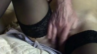 CUTE LENA FINGERED GENTLY