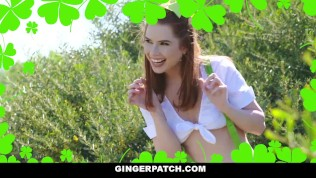 GingerPatch - Slutty Redhead Gets Filled On St. Pattys Day