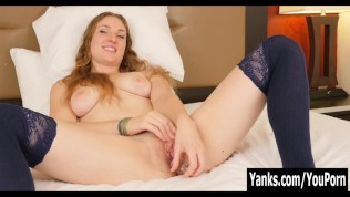 Yanks Blonde Mira's Happy Trail to Happiness