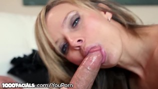 Hot Sexy Blonde MILF Pristine Edge Finds Ur Dick So Yummy!