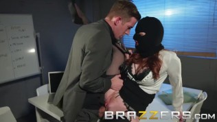 Brazzers - Zara Du Rose fills out her office fantasy