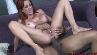 MILF Shannon Kelly gets anal from biggest black cock