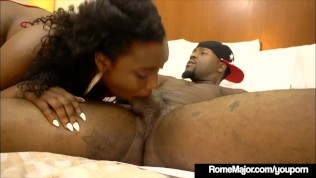 Black Bull Rome Major Anal Fucks Ebony Freak Lisa Tiffian!