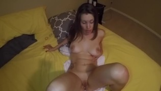 I suck and ride your cock to creampie while your wife listens to all