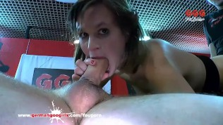 German Goo Girls - Sexy Luisa Crazy For Sperm