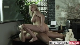 Digital Playground - Madison Ivy gets fucked on her bosses desk for a lil extra cash