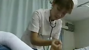 Asian Nurse HandJob