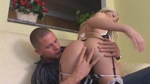 Hot Neighbor Devours Thick Cock