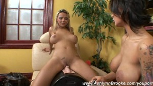 Ashlynn Brooke & Angelina Get Each Other Off