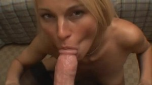 Girlfriends first taste of CUM
