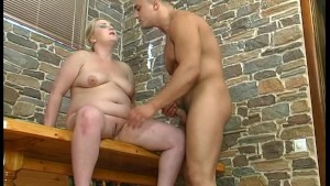 BBW MILF fucked in the ass