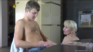 Hot sex with hot mature MILF