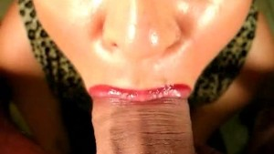 Cum Swallow Blowjob