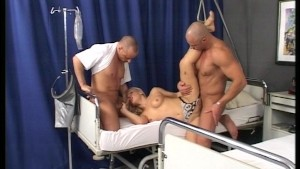 Blondes low blood pressure no help to other patient [clip]