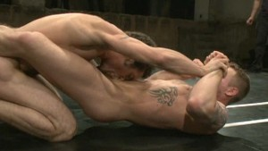 Trent Diesel hot naked wrestling with studly DJ