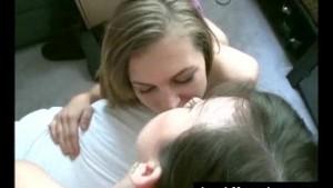 Insane Girl Girl Boy Threesome