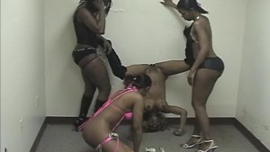 Black girls shake, dance and entertain