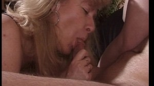 Young couple have sex in front of older woman