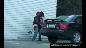 Sneaky Outdoor Sex