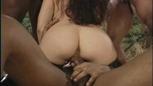 She likes big black cocks to snack on
