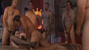 Sabrina Deep Fan Bang Orgy Scene 1