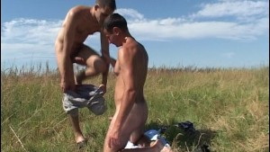 Finding a friend out in the fields to fuck