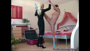 flexi fun with my real play doll
