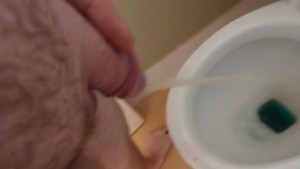 small shaved cock pee