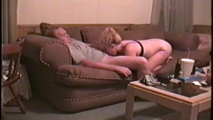 Hot Girlfriend Gets Fucked on the Couch