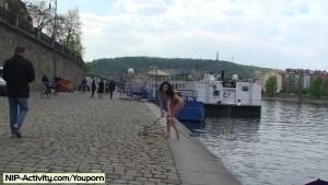 Spectacular Public Nudity With Crazy Nikol Vanilla