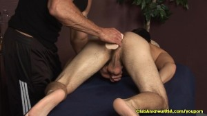 Internal Dildo Massage