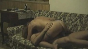 Amateur Hidden Cam Fuck On Couch