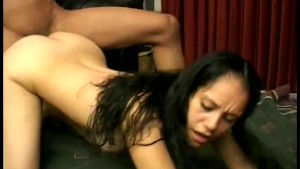 Asian Gets Slammed By Huge Cock - Gentlemens Video