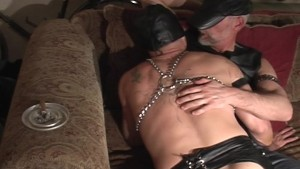 Ray Boy and Ridge North BDSM session